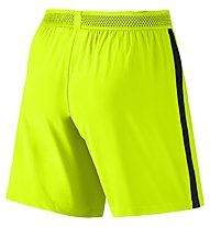 Nike Flex Strike Herren-Fußballshorts, Yellow/Black