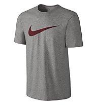 Nike Men's Sportswear Swoosh T-Shirt fitness, Grey