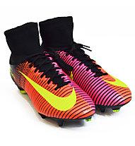 Nike Mercurial Superfly V SG-Pro Fußballschuhe weicher Boden, Red/Pink