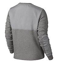 Nike Advance 15 Crew Pullover Damen, Dark Grey Heather