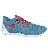 Nike Free 5.0, Blue Lagoon/B. Crimson/C.Water