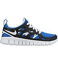 Nike Nike Free Run 2 (Gs) Scarpe Tempo Libero Bambino, Black/Blue