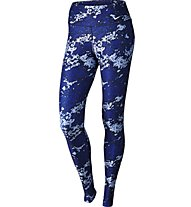 Nike Legend Poly Tight Drift Pantaloni Fitness Donna, Blue