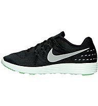Nike Lunartempo 2 LB - Laufschuhe, Black/Metallic Pewter/Green
