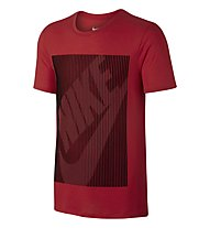 Nike Color Shift Futura T-Shirt fitness, Red