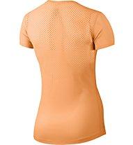 Nike Pro Hypercool Trainingsshirt Damen, Orange