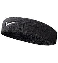 Nike Swoosh Stirnband, Black/White