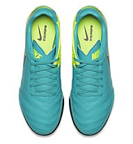 Nike Tiempo Mystic V TF - Fußballschuhe, Clear Jade/Black/Volt
