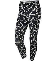 Nike Women's Sportswear Legging Pantaloni corti fitness donna, Black/White