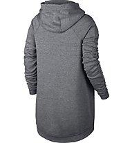 Nike Women's Sportswear Tech Fleece Cape Giacca sportiva fitness donna, Grey