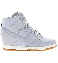 Nike Women's Dunk Sky HI Essential - scarpe tempo libero donna, Light Grey