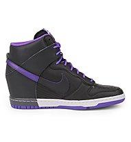 Nike Women's Dunk Sky HI - scarpe tempo libero donna, Black