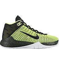 Nike Zoom Ascention (GS) Scarpe da basket bambino, Green