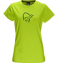 Norrona /29 cotton logo T-Shirt Damen, Birch Green