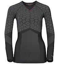 Odlo Blackcomb Evo Warm Damen-Funktionsshirt, Black