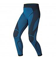 Odlo Evolution Warm Greentec Pants, Campanula/Black