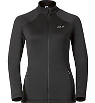 Odlo Giacca in pile Layer Snwobird donna, Black