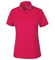 Odlo Polo Shirt s/s Malaga Polo Donna, Rose Red