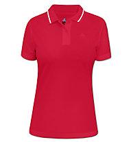 Odlo Polo Shirt s/s Malaga Polo Donna, Red