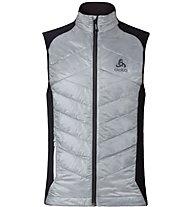 Odlo Primaloft Lofty Vest - gilet running, Silver/Black