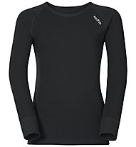 Odlo Shirt L/S Warm Jr, Black