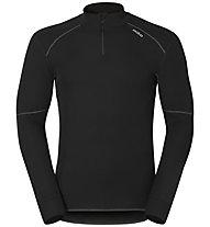 Odlo X-Warm Shirt L/S Turtleneck 1/2 Zip, Black