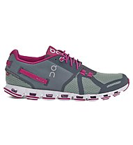 ON Cloud W - scarpa running donna, Forest/Raspberry