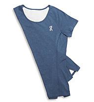ON Comfort-T - maglia running donna, Navy
