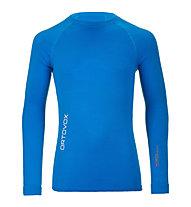 Ortovox 230 Competition Long Sleeve langärmliges Merino-Funktionsshirt, Blue Ocean