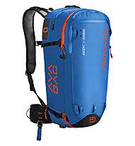 Ortovox Ascent 30 AVABAG - zaino airbag, Blue