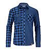 Ortovox Double Check Hemd Langarm, Blue Ocean