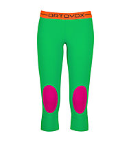Ortovox Pantaloni 3/4 Rock'n'Wool donna, Crazy Green