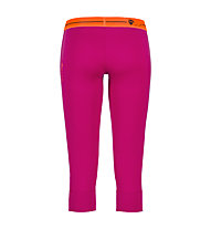 Ortovox Pantaloni 3/4 Rock'n'Wool donna, Very Berry