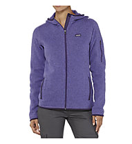 Patagonia Better Sweater Full-Zip Hoody giacca pile donna, Violetti