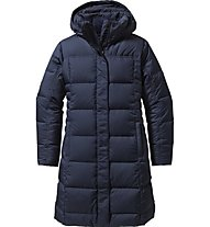 Patagonia W's Down With It Parka Giacca Donna, Blue