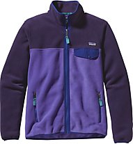 Patagonia W's Full-Zip Snap-T Jkt Giacca in pile donna, Violet