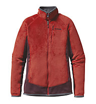 Patagonia W´s R2 Jacket - Giacca donna in pile, Cochineal Red