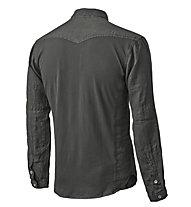 Pedal Ed Garage Shirt Camicia sportiva a maniche lunghe, Black