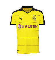 Puma BVB Kids Home Replica Shirt 2015/16, Cyber Yellow/Black