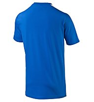 Puma FIGC Kids Italia Graphic - Italienshirt, White/Dark Blue