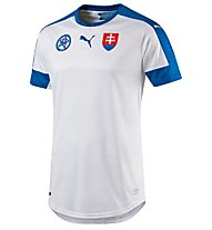 Puma Slovakia Home Replica Shirt - Nationaltrikot Slowakei, White/Blue