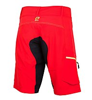 Qloom Counterburry MTB-Radhose, Rubin Red