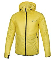 Qloom M's Jacket Thermo RAISE, Buttercup