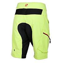 Qloom Vaucluse Shorts MTB-Radhose, Lime