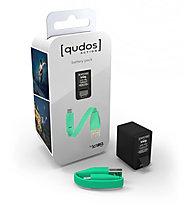Knog Qudos Action Battery Pack, Black/Green