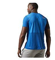 Reebok One Series Breeze SS T-Shirt Männer, Blue Sport