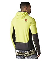 Reebok One Series DWR Speedweick Hoodie Kapuzen-Sweatshirt Herren, Yellow