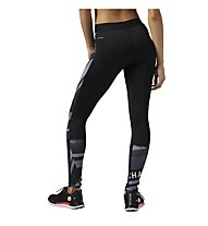 Reebok One Series Compression Tight Pantaloni lunghi fitness donna, Black