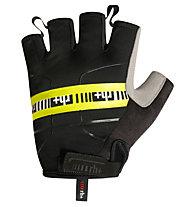rh+ Academy Glove Fahrradhandschuhe, Black/Fluo Yellow