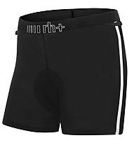 rh+ Biking W Inner Short gepolsterte Damen-Radinnenhose, Black